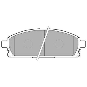 Колодки дисковые, DELPHI, LP1659