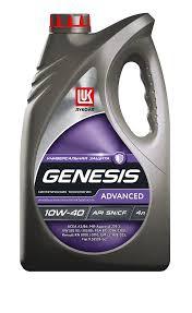 Моторное масло LUKOIL Genesis Advanced, 10W-40, 4л, 1632650