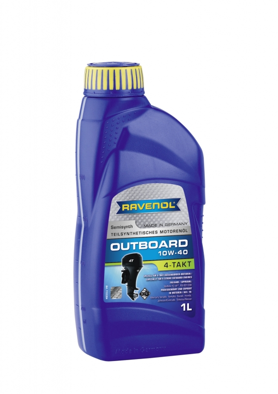 Моторное масло RAVENOL Outboardoel 4T, 10W-40, 1л, 4014835729117