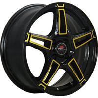 Колесный диск Yokatta MODEL-35 7x17/5x114,3 D64.1 ET45 черный+желтый (BK+Y)