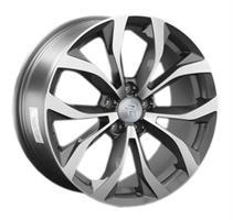 Колесный диск Ls Replica A69 7x16/5x112 D56.6 ET39 серый глянец, полированнные спицы и обод (GMF)