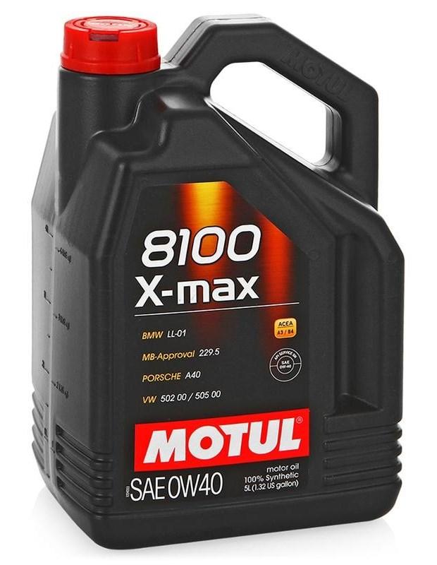 Масло моторное MOTUL 8100 X-max, 0W-30, 4л, 106601