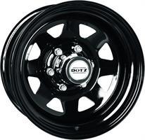 Колесный диск Dotz 7x15/6x139,7 D110 ET12 Dakar dark OR5DB
