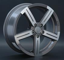 Колесный диск Catwild R2. 6.5x16/5x100 D60.1 ET45 насыщенный темно-серый полностью полированный (GMF