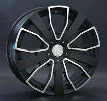 Колесный диск LS Wheels LS 193 8x20/5x112 D66.6 ET45 черный с дымкой, полностью полированный (MBF)