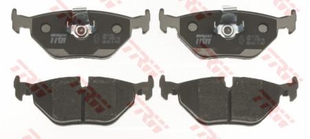 Колодки дисковые Задние, TRW, GDB1265