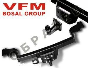 Фаркоп для Ford Transit (Форд Транзит) Chassis Cab (2012-)крюк тип F ( грузоподъемность 1500 кг) без