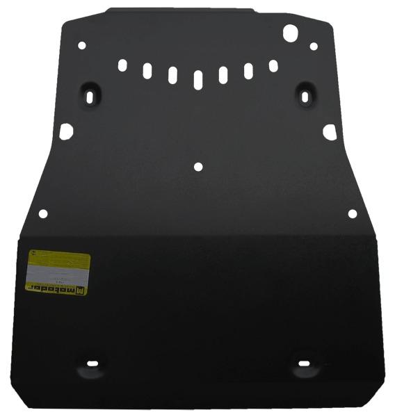 Защита картера двигателя, КПП Nissan X-Trail II 2007-2014 V=2,0TD (сталь 2 мм), MOTODOR11410