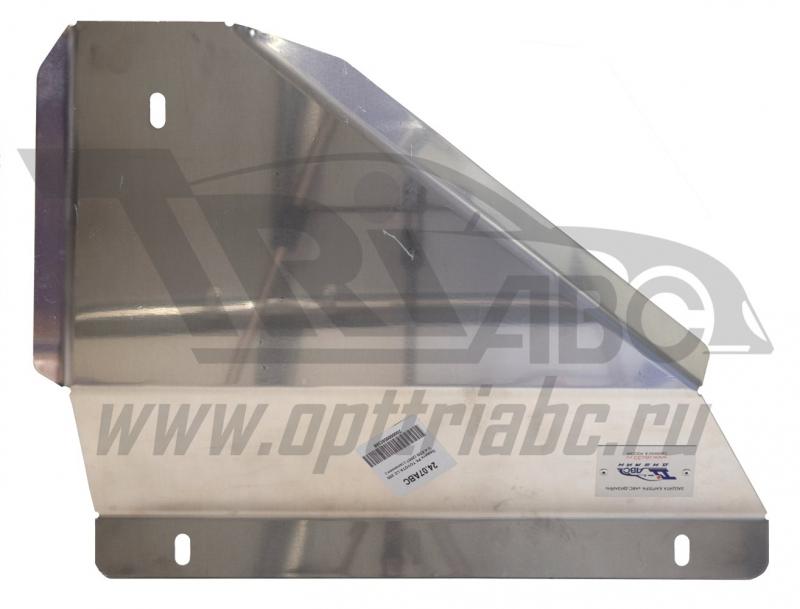 Защита РК Toyota LC 200 V-4.5TD (2007-10.2015) (Алюминий 4 мм), 2407ABC