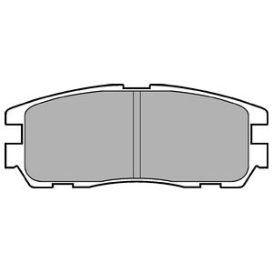 Колодки дисковые, DELPHI, LP965