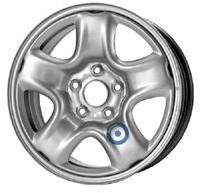 Колесный диск Kfz 6.5x16/5x114,3 D60 ET45 9675