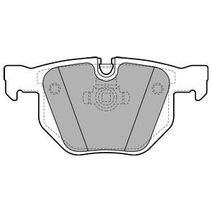 Колодки дисковые, DELPHI, LP1927