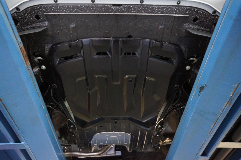 Защита картера двигателя и кпп Honda (Хонда) Civic (Цивик) 5D хэтчбек V-все (2012-) -все (Композит 6