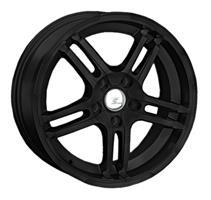 Колесный диск LS Wheels 295 6.5x15/4x100 D54.1 ET40 черный с дыкой (MB)