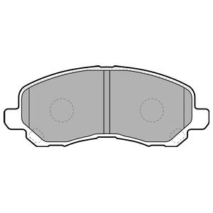 Колодки дисковые, DELPHI, LP1684