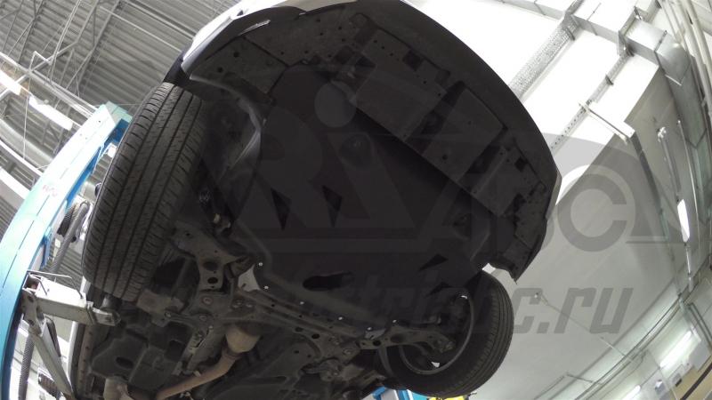 Защита картера двигателя и кпп Lexus NX, V-2.5hib,2,0; 2,0t (2014-)(композит 6 мм), 2420K
