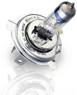 "Лампа ""VisionPlus"", 12 В, 60/55 Вт, H4, P43t-38, PHILIPS, 39934930"