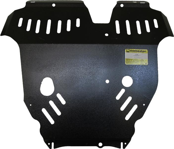 Защита картера двигателя, КПП Mitsubishi Endeavor 2003-2011 V=3,8i (сталь 3 мм), MOTODOR11323