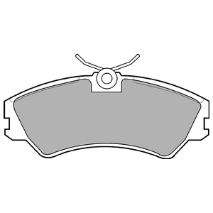Колодки дисковые, DELPHI, LP668