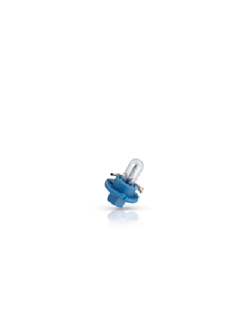 Лампа Philips Vision, 12 В, 1.2 Вт, BAX8.4d, 12623CP