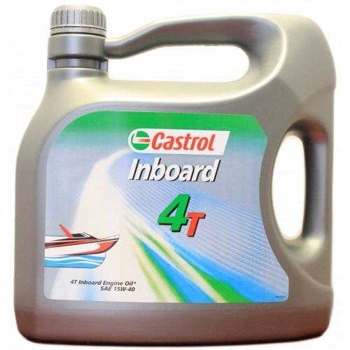 Моторное масло CASTROL Inboard 4T, 15W-40, 4л, 4566540090