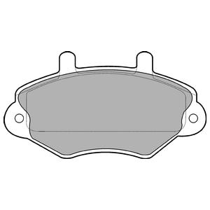 Колодки дисковые, DELPHI, LP767
