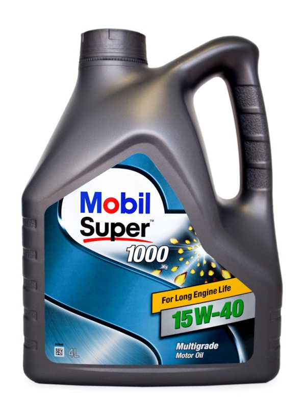 Моторное масло Mobil Super 1000 X1, 15W-40, 4л