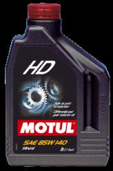 Масло трансмиссионное Motul HD, 85W-140, 2л, 100112