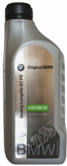Моторное масло BMW Longlife-01 FE, 0W-30, 1л, 83 21 0 144 467