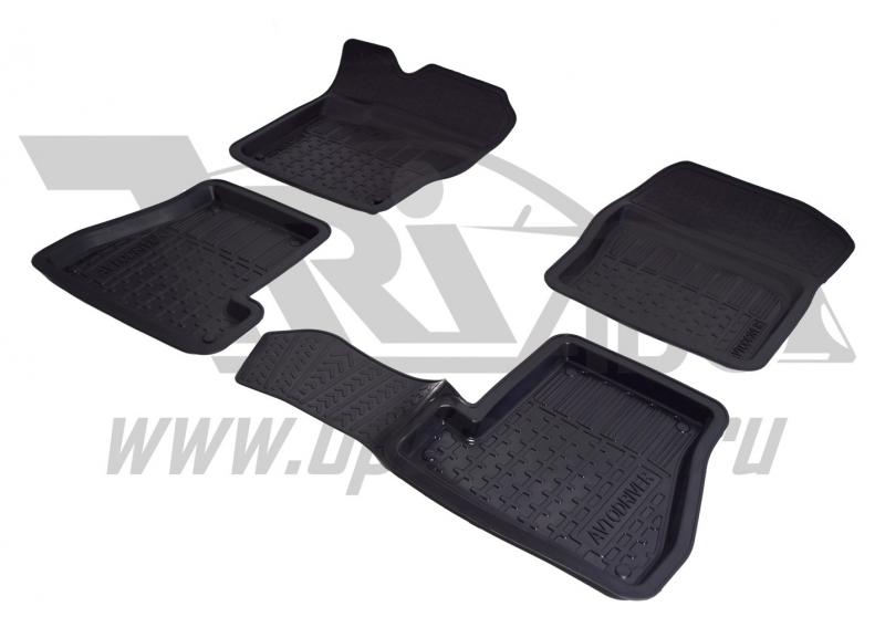 Коврики салона резиновые с бортиком для Mazda 3 (2007-2013), ADRPRO032