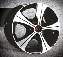 Колесный диск 4go 56 6.5x16/5x114,3 D63.4 ET40 черный с алм. обр. полки (BML)
