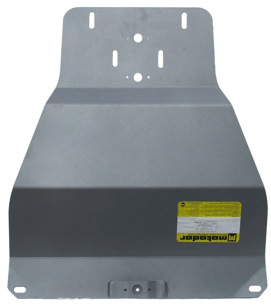 Защита картера МКПП Mitsubishi L200 2006-2013 V= все (алюминий 5 мм), MOTODOR31310