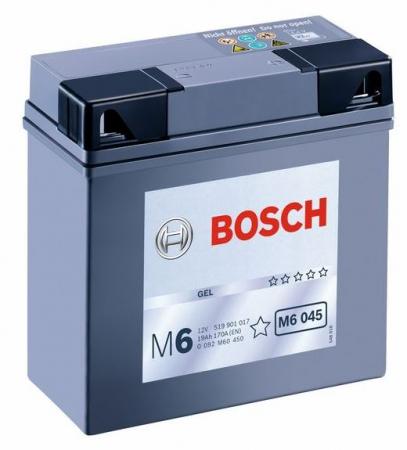 Аккумуляторная батарея Bosch Funstart Gel, 12 В, 19 А/ч, 170 А, 0092M60450