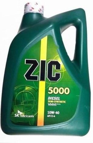 Моторное масло ZIC 5000 Diesel, 10W-40, 6л, 173128