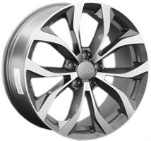 Колесный диск Ls Replica A69 8.5x19/5x112 D66.6 ET45 серый глянец, полированнные спицы и обод (GMF)