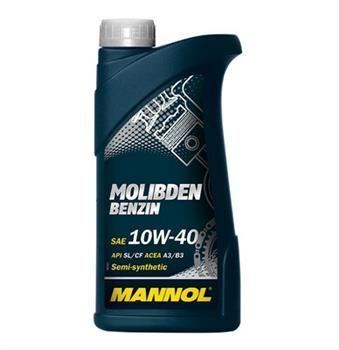 Моторное масло MANNOL MOS Benzin, 10W-40, 1л, 4036021101552