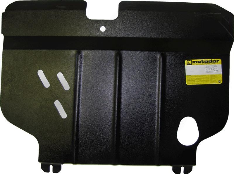 Защита картера двигателя, КПП Mitsubishi Lancer V 1992-1996 V=1,3 1,5 1,8 (сталь 2 мм), MOTODOR01302