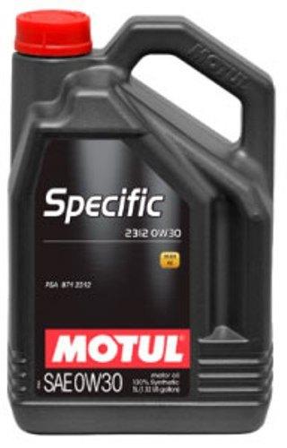 Масло моторное MOTUL Specific 2312, 0W-30, 5л, 106414