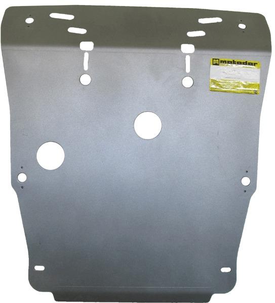 Защита картера двигателя VW Touareg 2003-2010 VW Touareg 2010- V=3,0 TD, V=3,6 FSI (алюминий 8 мм),