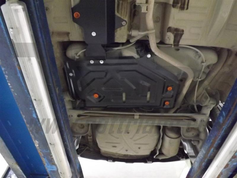 Защита топливного бака Lada X-Ray,V-1,6 (2016-)/Lada Largus V-1,6 (2012-)/Renault Kaptur 2WD V-все (