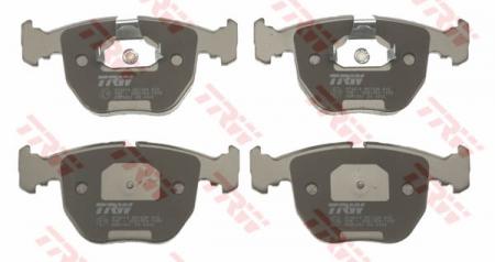 Колодки дисковые Передние, TRW, GDB1261