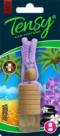 Ароматизатор Tensy (Ночная орхидея) жидкая основа, Бутылочка с деревянной крышкой, 13шт./бло, TBT04