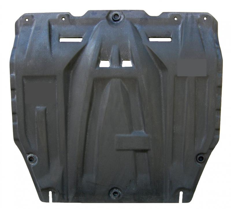 Защита картера двигателя и кпп Kia Soul (Киа Соул) (V-все, 2009-2014) (Композит 6 мм), 1102K