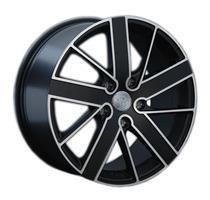 Колесный диск Ls Replica VW152 8.5x18/5x130 D66.6 ET53 черный с дымкой, частично полированный (FMBF)