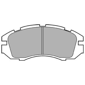 Колодки дисковые, DELPHI, LP813