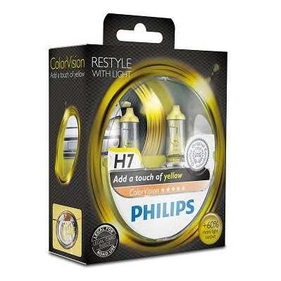 Лампа, 12 В, 55 Вт, H7, PX26d, PHILIPS, 36802428