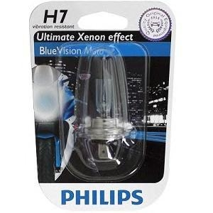 Лампа, 12 В, 55 Вт, H7, PX26d, PHILIPS, 12972BVUBW