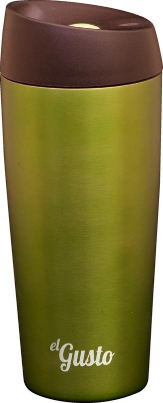Термокружка el GUSTO Grano, зеленая, 470 мл, 110G