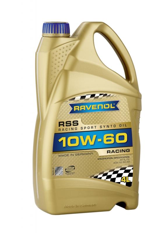 Моторное масло RAVENOL Racing Sport Synto, 10W-60, 4л, 4014835726796