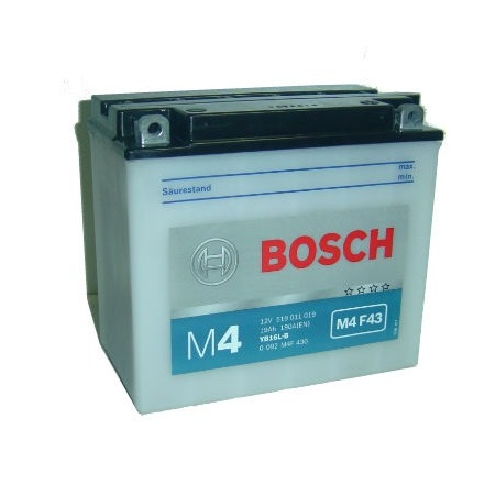 Аккумуляторная батарея Bosch Funstart FreshPack, 12 В, 19 А/ч, 190 А, 0092M4F430